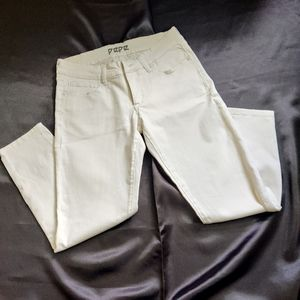 Pepe jeans white Ankle length 28